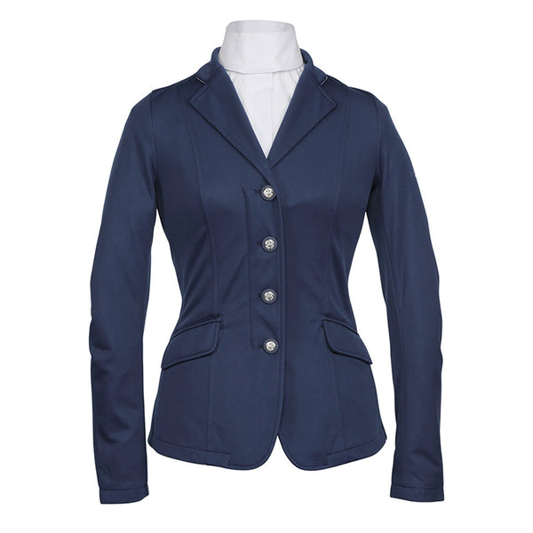 Shires Greenwich Ladies Jacket Navy Studio 9782
