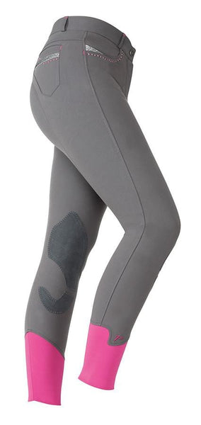 Shires Ladies Performance Bloomsbury Breeches Grey Studio 8822