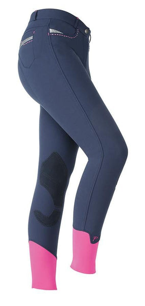 Shires Ladies Performance Bloomsbury Breeches Navy Studio 8822