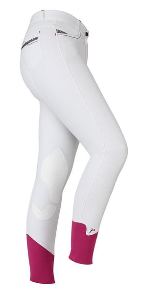 Shires Ladies Performance Bloomsbury Breeches White Studio 8822