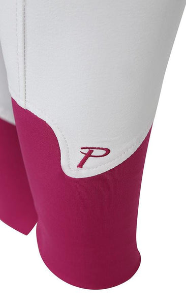 Shires Ladies Performance Bloomsbury Breeches White Leg Cuff Detail 8822