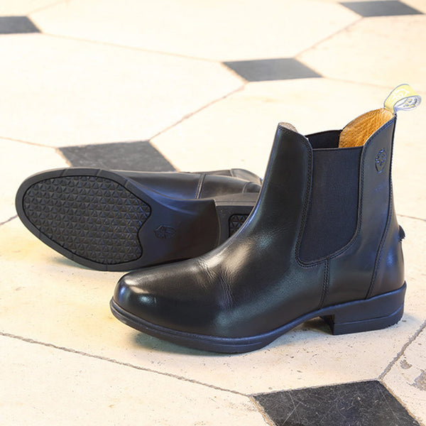Shires Moretta Lucilla Leather Jodhpur Boots Black Lifestyle 9960