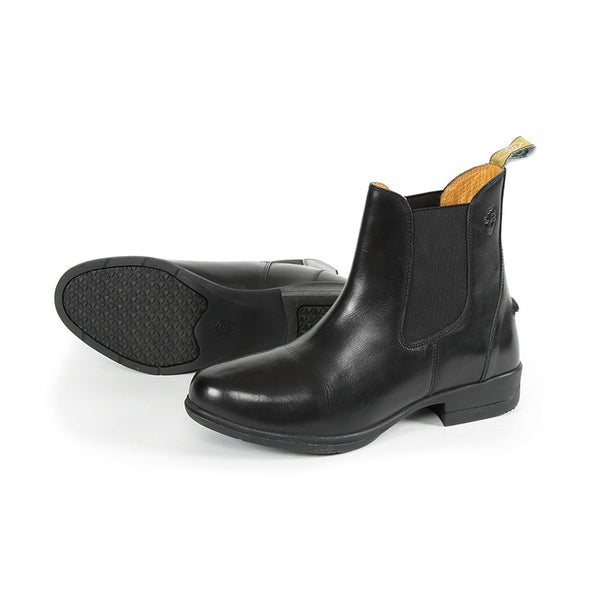 Shires Moretta Lucilla Leather Jodhpur Boots Black 9960