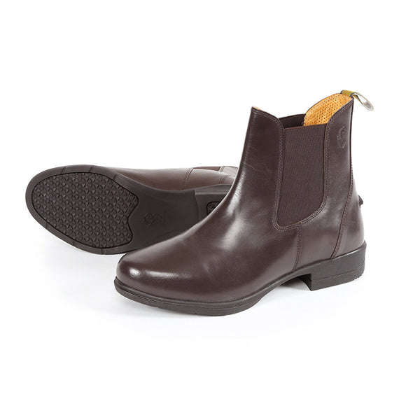 Shires Moretta Lucilla Leather Jodhpur Boots Brown 9960