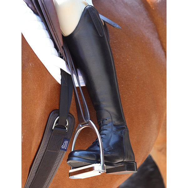 Shires Norfolk Leather Field Boots On Horse 921F