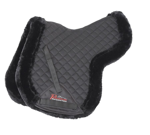 Shires Performance Supafleece Edged Numnah Black 5237