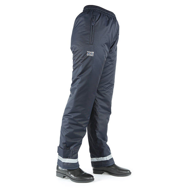 Shires Children's Team Winter Waterproof Over Trousers