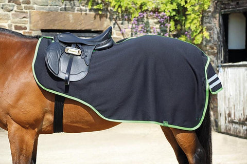 Shires Tempest Jersey Fleece Exercise Sheet Black 59F