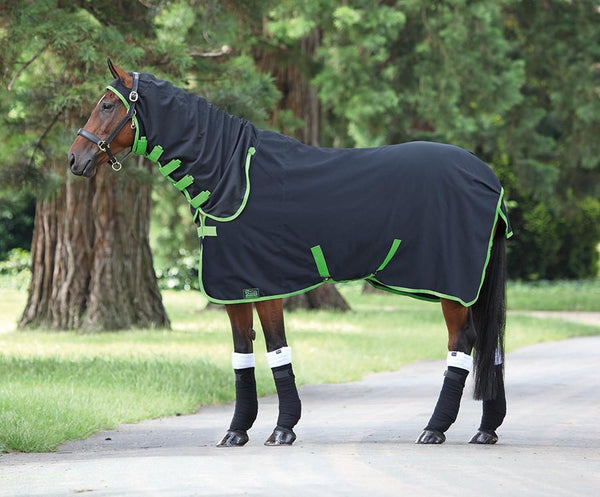 Shires Tempest Premium Stable Sheet Combo Black 98C