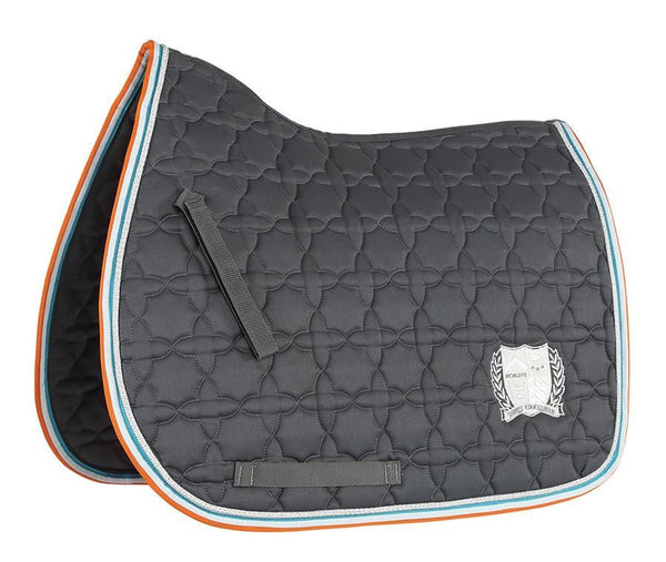 Shires Wessex Embroidered Saddle Cloth Grey 2560
