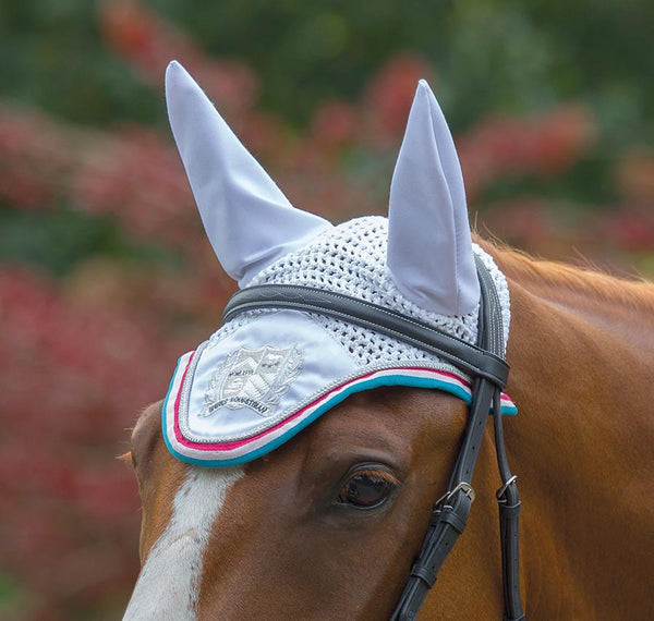 Shires Wessex Fly Veil White 169