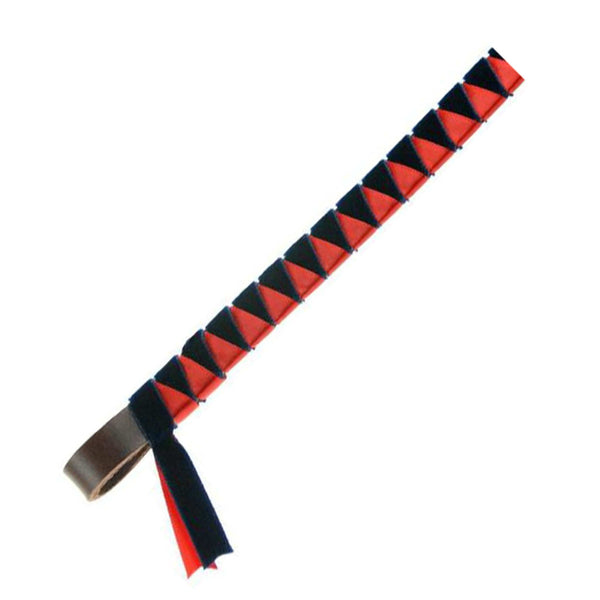 ShowQuest Hexham Browband in Navy and Red SHQ2115