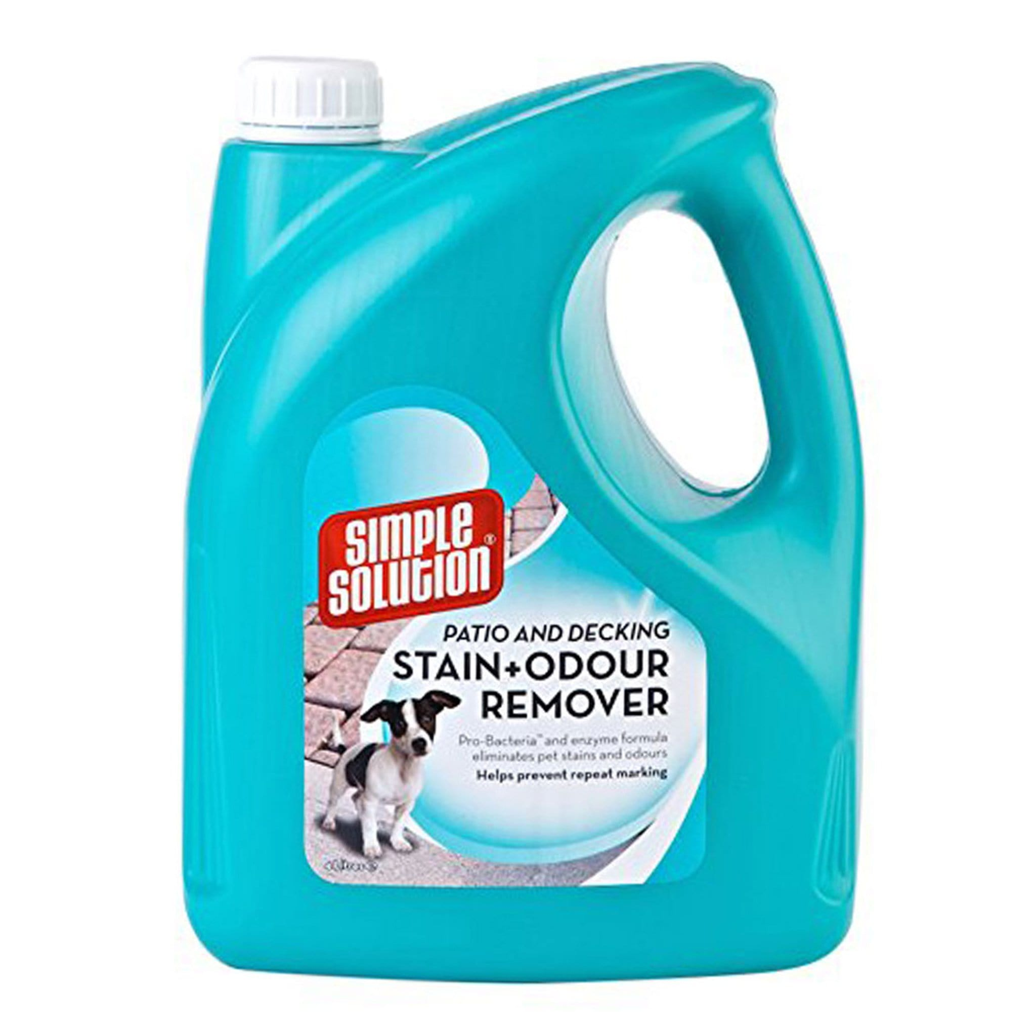 Simple Solution Patio and Deck Stain and Odour Remover 28634 4 Litre
