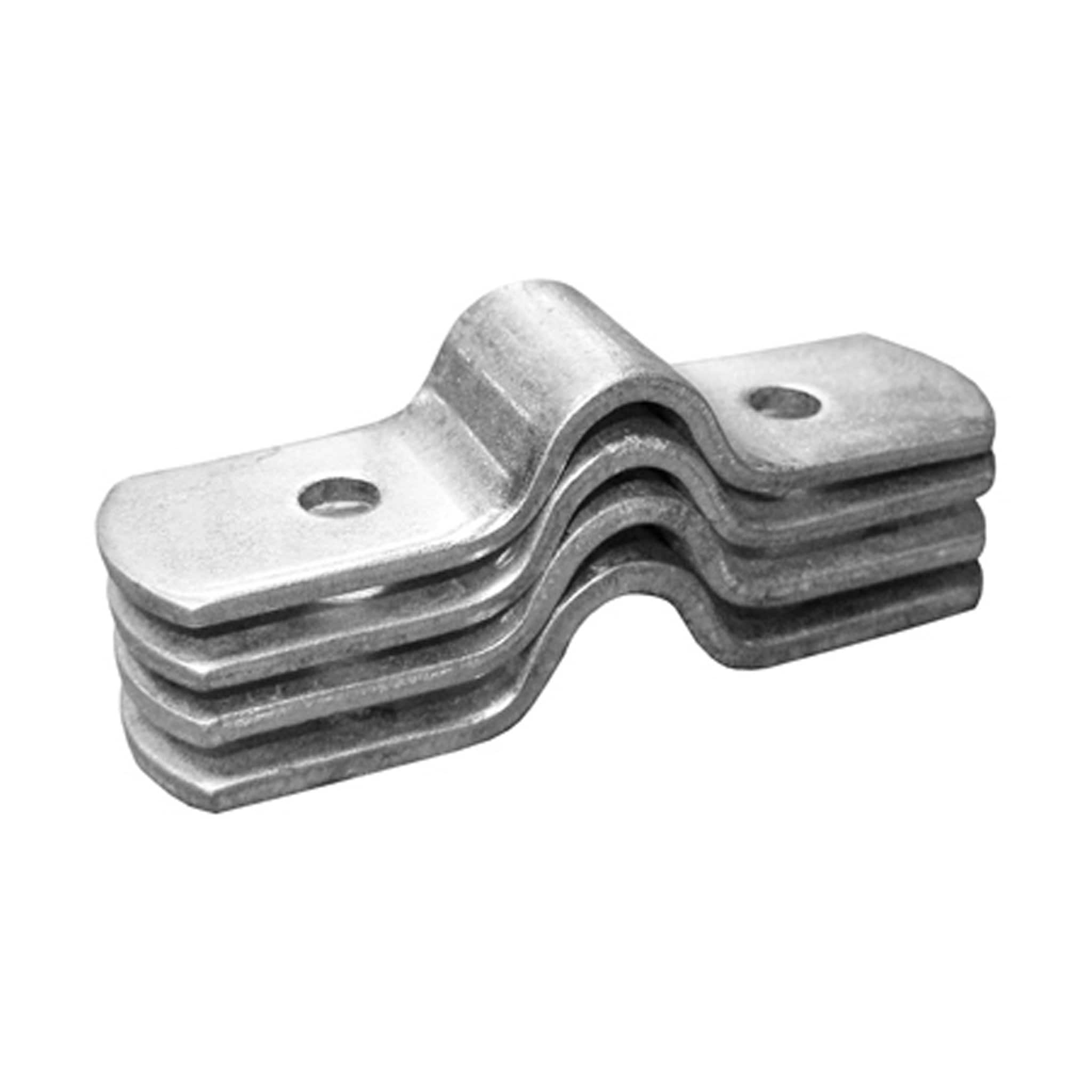 Stablekit Hay Rack Corner & Straight Wall Spare Bracket in Silver SKT887178