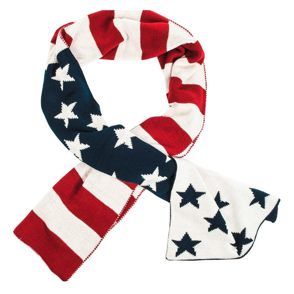 HKM Stars and Stripes Scarf 7586