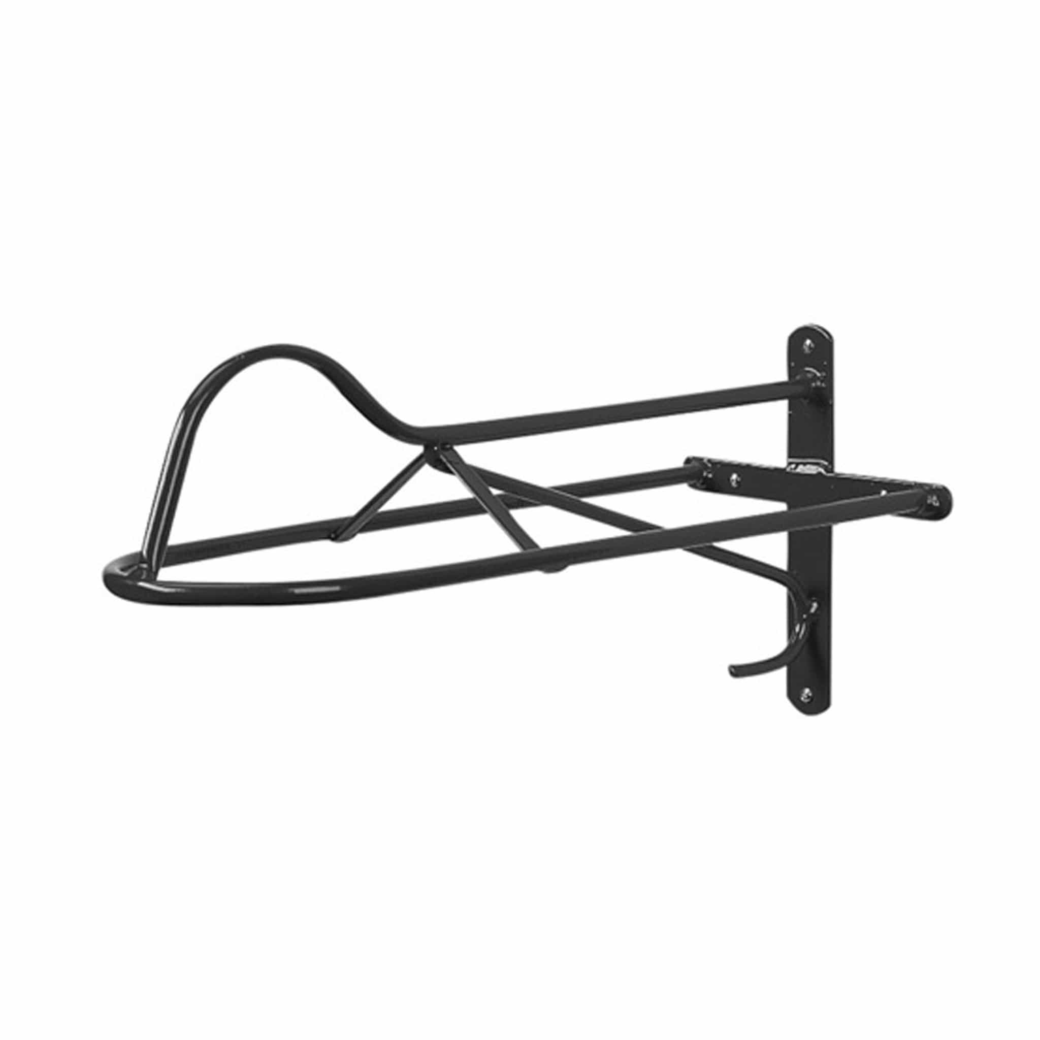 Stubbs Forward Seat Saddle Rack in Black 7908