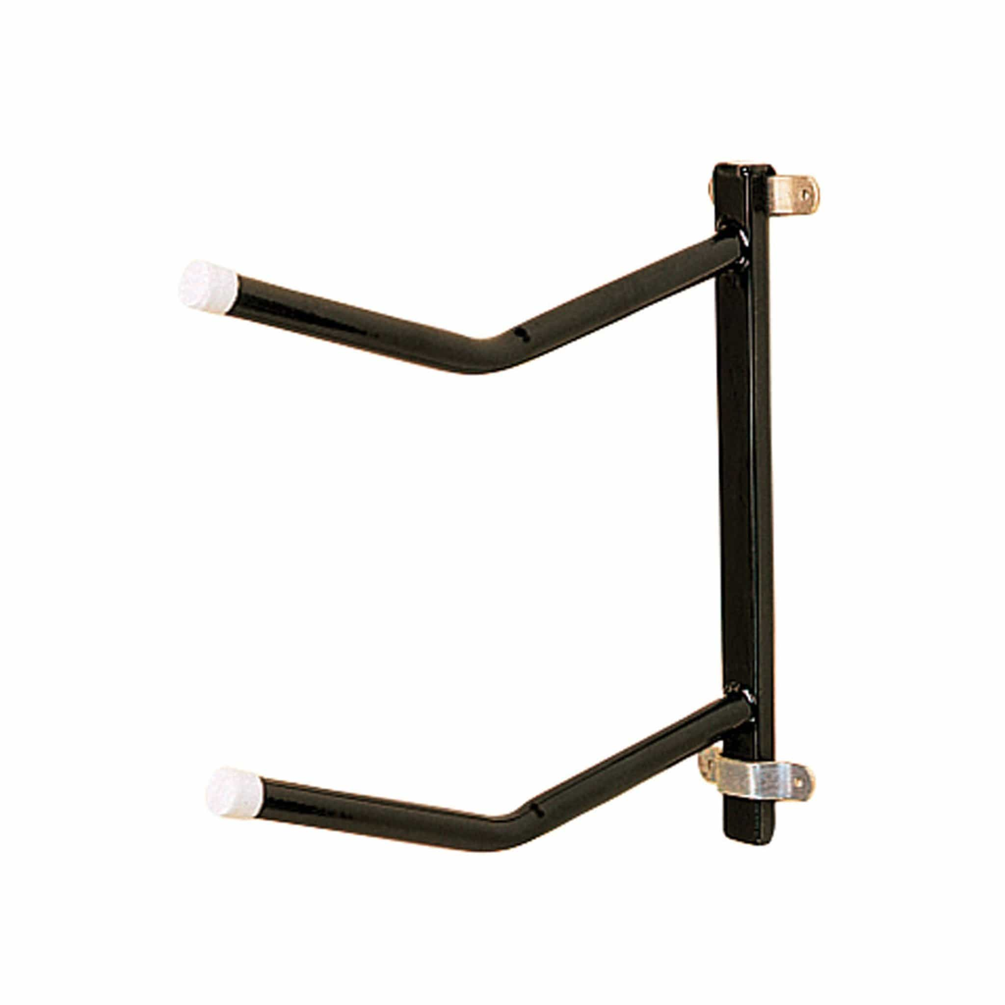 Stubbs Removable Clip-on Saddle Rack - Twin in Black 7903