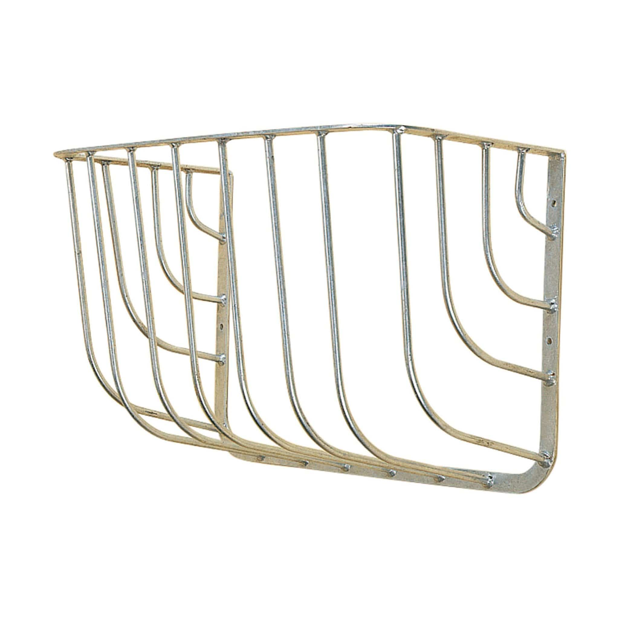 Stubbs Traditional Wall Hay Rack in Silver 7223