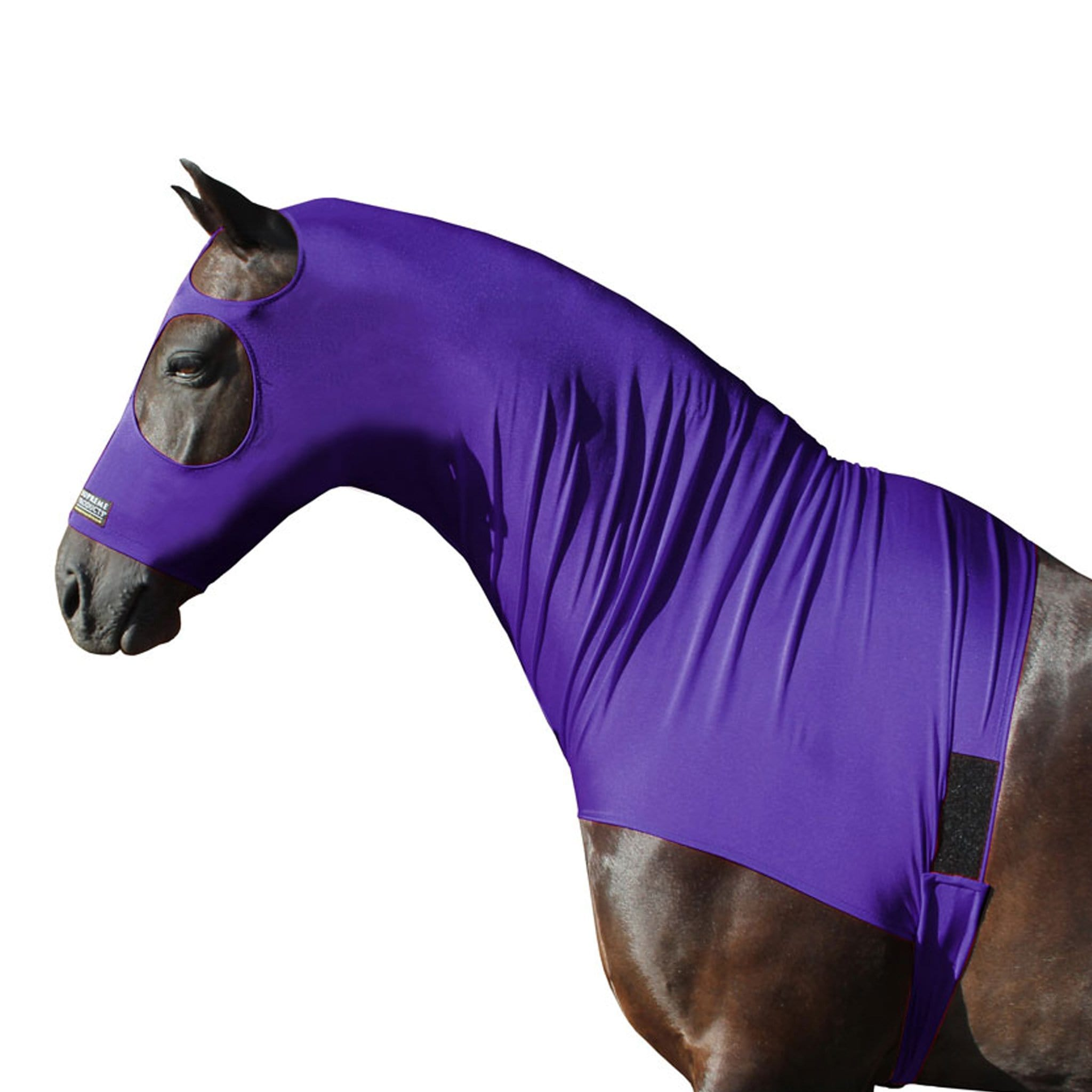 Supreme Products Lycra Hood Purple Standing