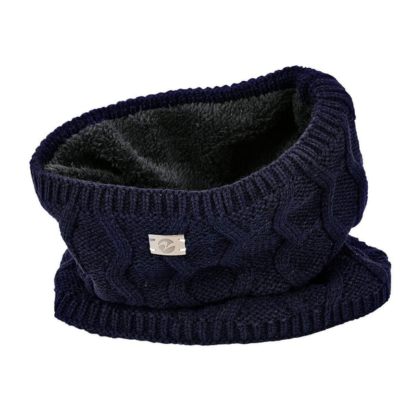 Busse Evolet Knitted Snood in Navy 719332