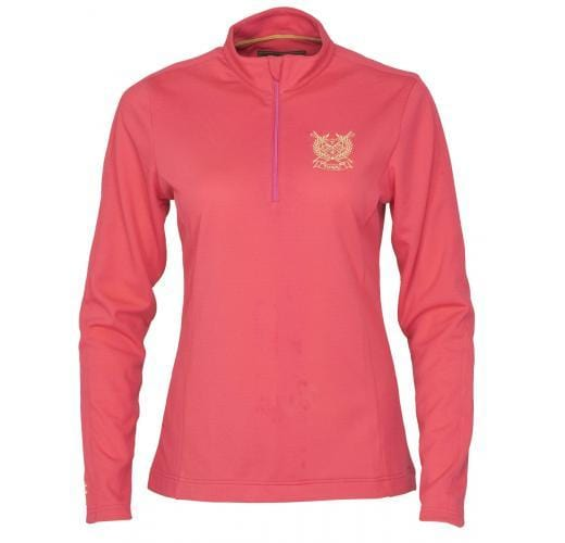 Toggi Barrasford Ladies Long Sleeve Technical Top Pink