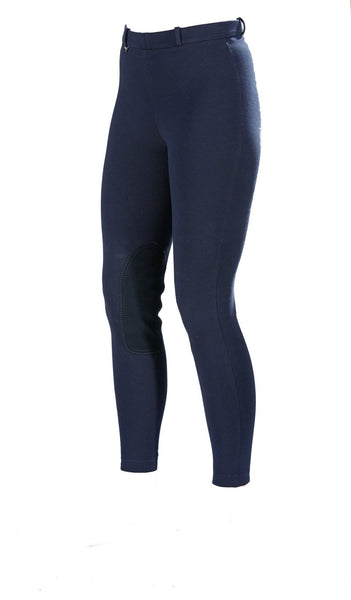 Toggi Blair Ladies Winter Breeches in Navy Front View