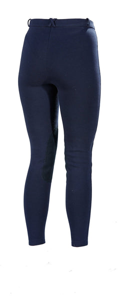 Toggi Blair Ladies Winter Breeches in Navy Rear View