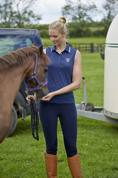 Toggi Blair Ladies Winter Breeches worn by Model with Horse