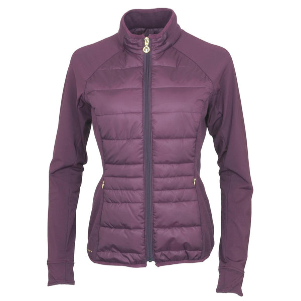 Toggi Clarisse Ladies Mid Layer Jacket Berry Front