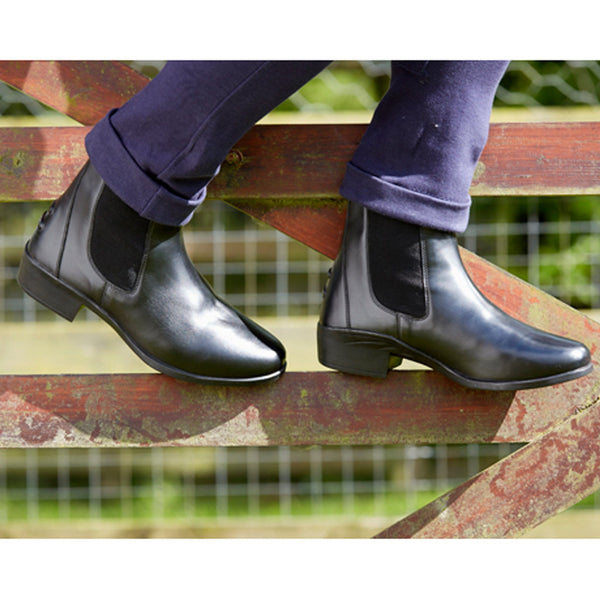 Toggi Clearmont Leather Jodhpur Boot in Black Lifestyle