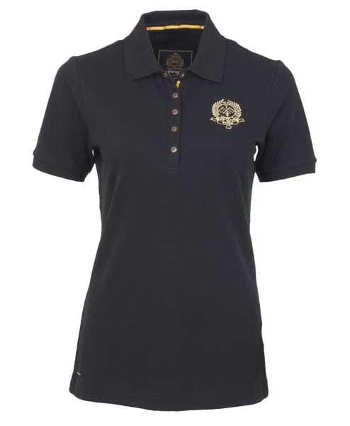 Toggi Groveland Polo Shirt in Black Front