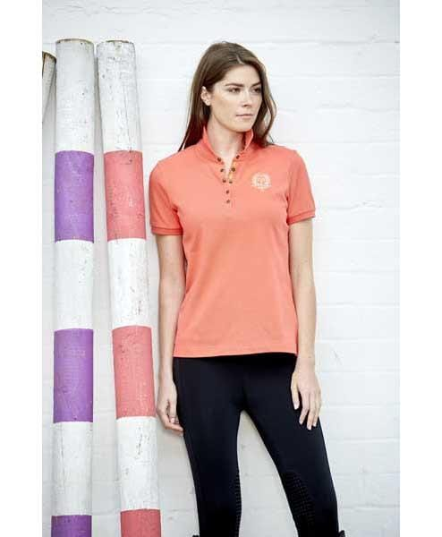 Toggi Groveland Polo Shirt in Coral Rider