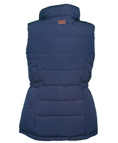 Toggi Mondello Ladies Gilet in Night Blue Rear View