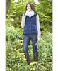 Toggi Mondello Ladies Gilet in Night Blue worn by Rider