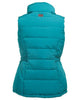 Toggi Mondello Ladies Gilet in Peacock Green Rear View
