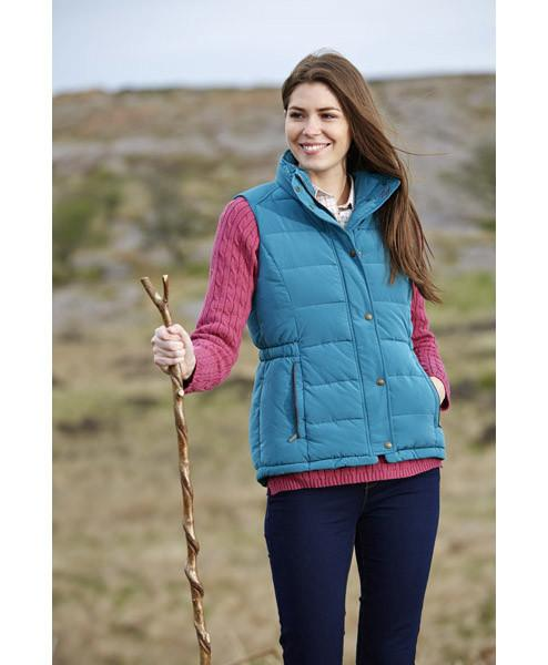 Toggi Mondello Ladies Gilet in Peacock Green Front View