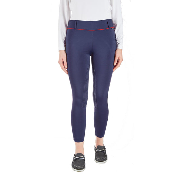 Toggi Noriker Sock Bottom Breeches Midnight Blue Front