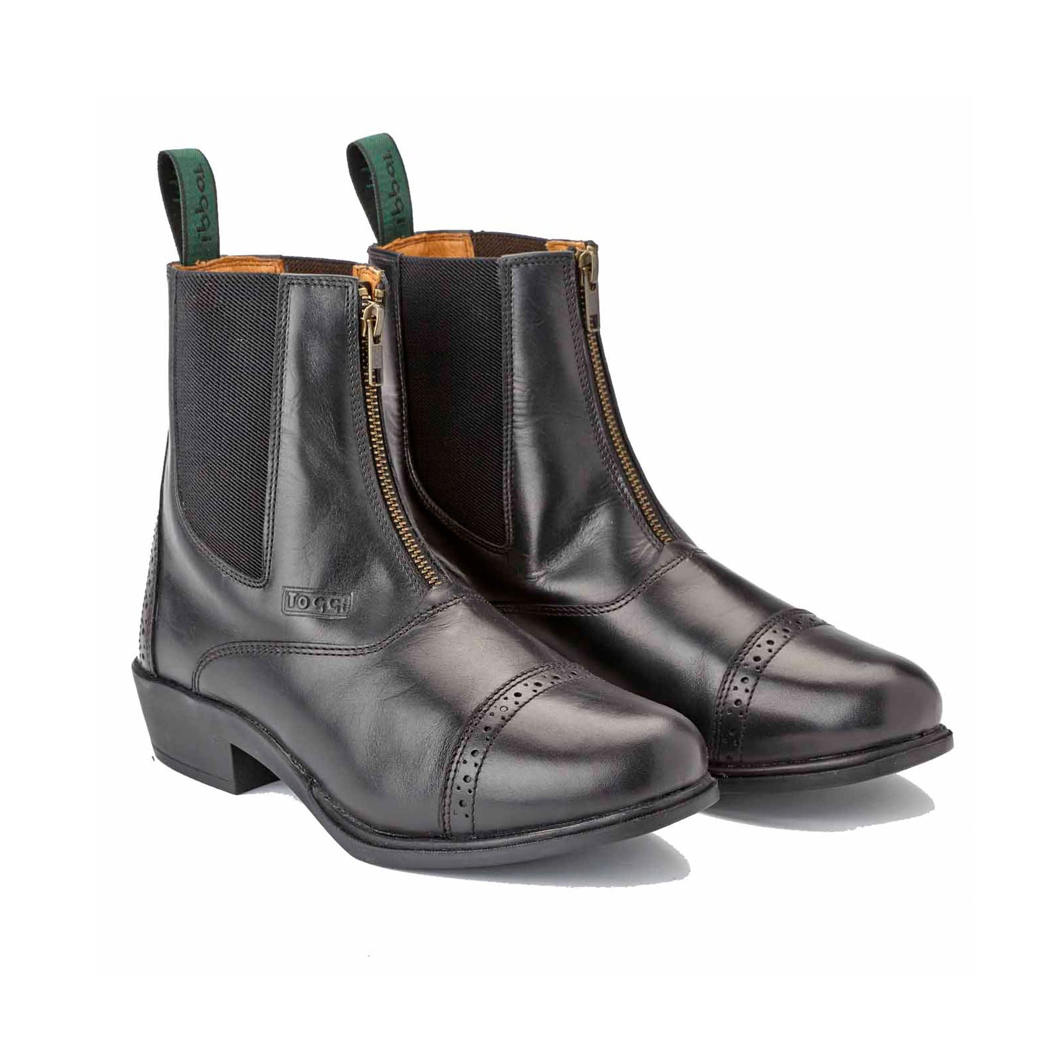 Toggi Richmond Leather Jodhpur Boot Black Studio
