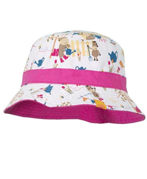 Toggi Sizzle Children's Reversible Hat in Summer Print