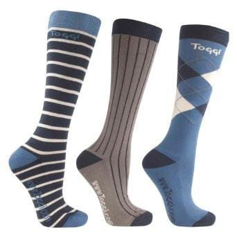 Toggi Stowe Men's Three Pack Socks - EQUUS