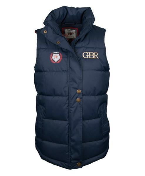 Toggi Team GBR Athens Unisex Riding Gilet Front View