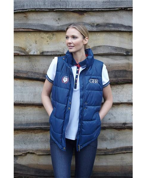 Toggi Team GBR Athens Unisex Riding Gilet worn by Lady