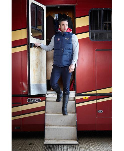 Toggi Team GBR Athens Unisex Riding Gilet worn by Man