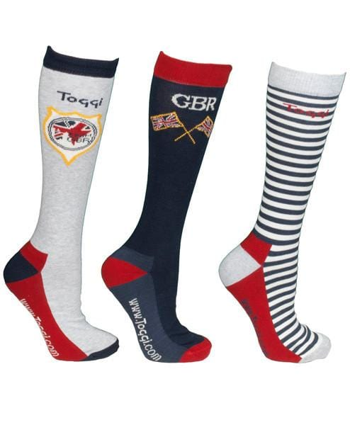 Toggi Team GBR Japan Men's Three Pack Socks