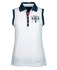 Toggi Team GBR Paris Ladies Sleeveless Polo Shirt