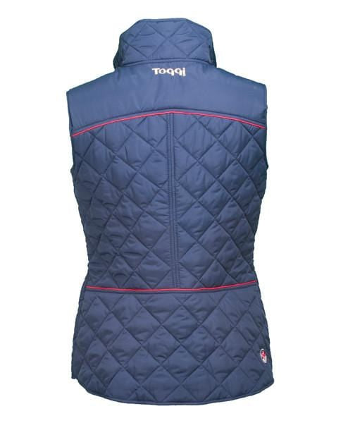 Toggi Team GBR Rio Ladies Quilted Gilet Back