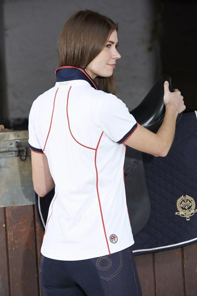 Toggi Team GBR Turin Ladies Polo Shirt Back Lifestyle