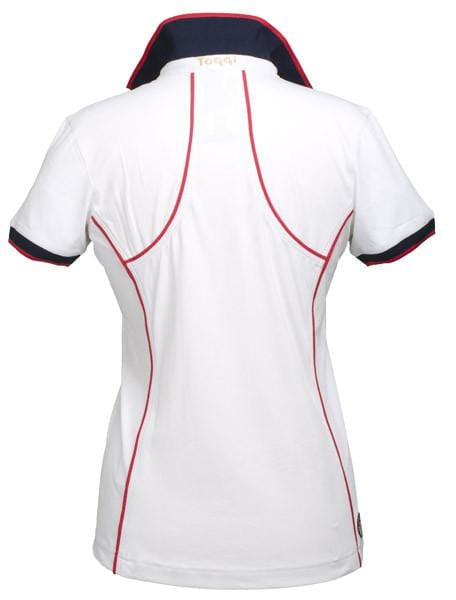 Toggi Team GBR Turin Ladies Polo Shirt Back