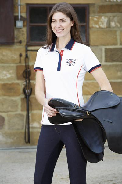 Toggi Team GBR Turin Ladies Polo Shirt Front Lifestyle