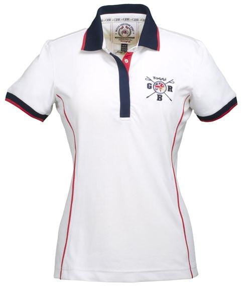 Toggi Team GBR Turin Ladies Polo Shirt Front